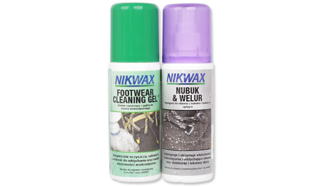 Nikwax - Care kit for Nubuck and Suede shoes