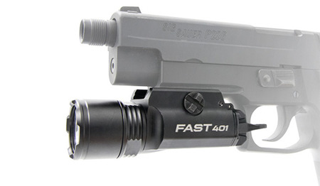 OPSMEN - FAST 401 Ultra-High-Output LED Weaponlight - 800 lm