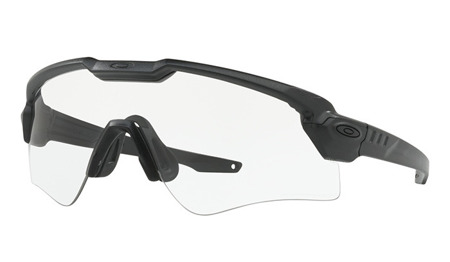 Oakley - SI Ballistic M Frame Alpha Matte Black Brille - Clear/Grey Photochromic - OO9296-1244