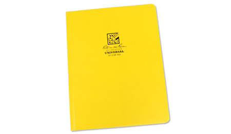 "Rite in the Rain - All-Weather Maxi Notebook - 8 3/4"" x 11 1/4"" - 370F-MX - Yellow"