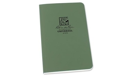 "Rite in the Rain - All-Weather Notebook - 4 5/8 x 7 1/4"" - 974 - Olive"