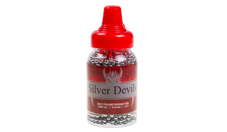 Silver Devils - Steel BB Pellets - 1500 pcs - 4,5 mm