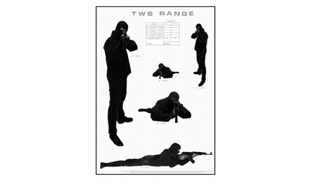 Tactical Weapon System - Shooting target TWS RANGE