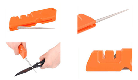 Taidea - Universal Knife Sharpener 3in1 Yoyal Outdoor T1055TDC