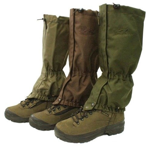 WISPORT - Anti-snow Gaiters Yeti Military - Olive Green