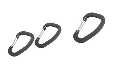 Wildo - Accessory Carabiner Set - 3 pcs - Black - 89611
