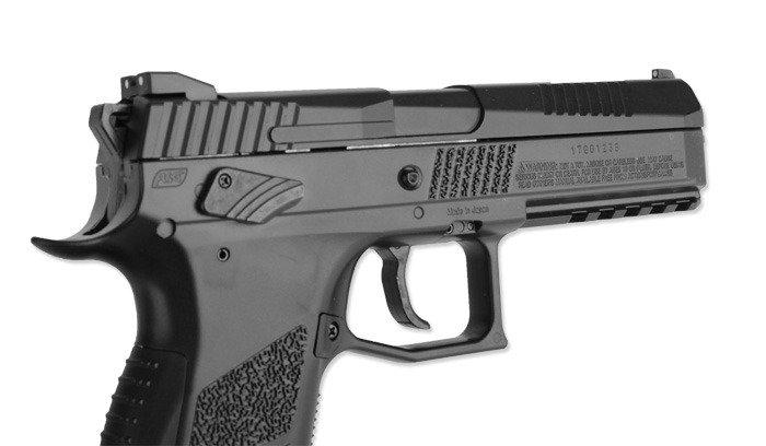 Nowoczesna architektura ASG - Wiatrówka CZ P-09 - Blow Back - 4,5 mm - 17537 ☆ SpecShop CW59