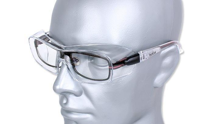9095ce0eeda365 Bolle Safety Okulary Ochronne Overlight Large Przezroczysty