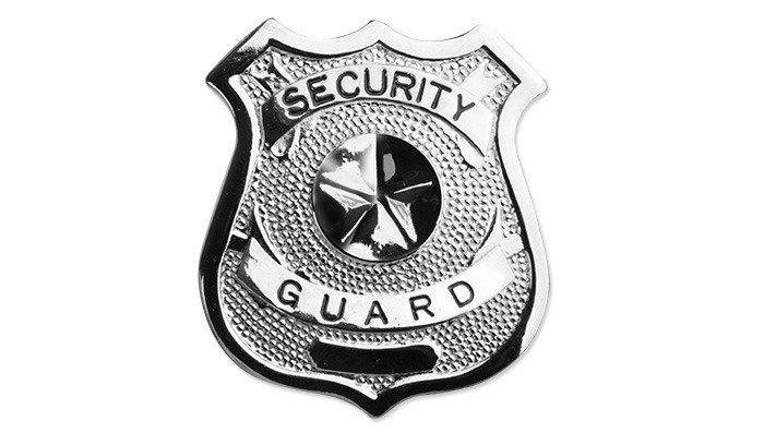 de3d842b5a7403 FOSCO - Odznaka Security Guard 2 - Srebrny ☆ SpecShop.pl ...