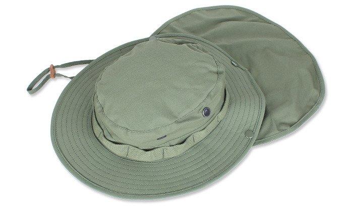 ... Helikon - Kapelusz Boonie Hat z osłoną - Oliwka Zielona - KA-BON-NR ... 5c601e6ce56d
