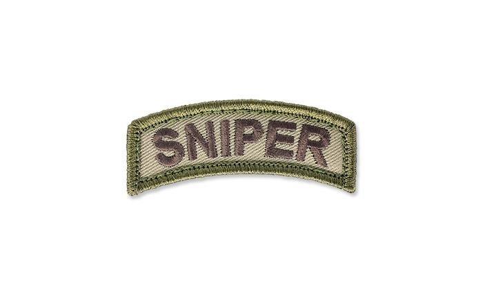 MIL SPEC MONKEY Naszywka Sniper Tab Multicam