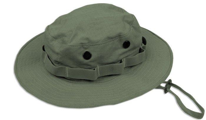 Teesar Inc. - Kapelusz Boonie Hat - RipStop - Zielony OD - 12325001 ... b0c63ab3f485