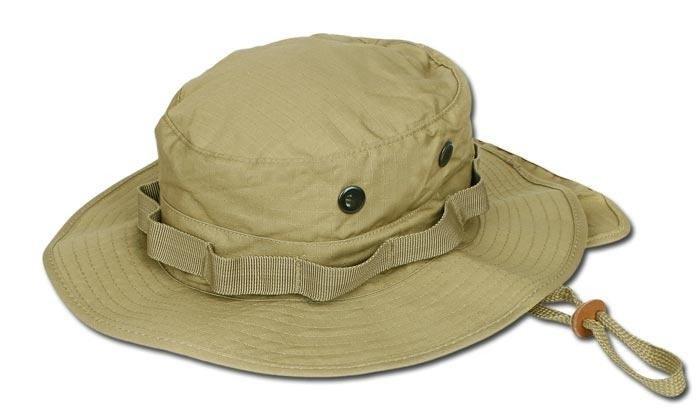 ... Teesar Inc. - Kapelusz Boonie Hat z Osłoną - RipStop - Coyote Brown ... ce0e78d42e8b