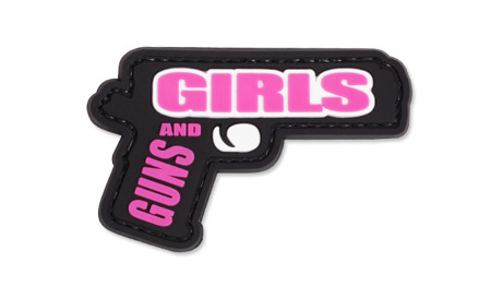 4TAC - Naszywka 3D - Guns and Girls