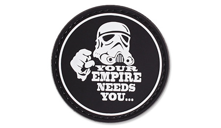 4TAC - Naszywka 3D - Your Empire Needs You - Czarny