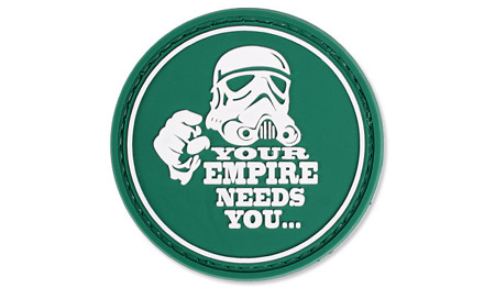 4TAC - Naszywka 3D - Your Empire Needs You - Zielony