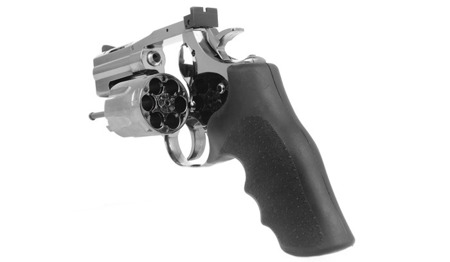 ASG - Replika rewolweru Dan Wesson 715 2,5'' Revolver - Steel Grey - 18613