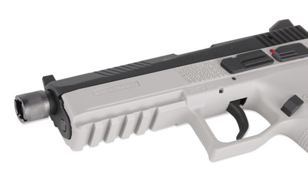 ASG - Replika pistoletu CZ P-09 - CO2 GBB - Urban Grey - 18943