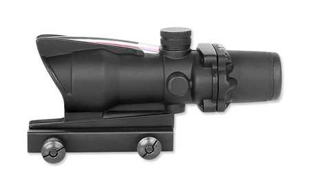 Aim-O - Luneta ACOG 4x32 Red Dot Fiber Optic Illumination - AO 1002-BK