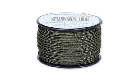 Atwood Rope MFG - Micro Cord - 1,18 mm - Olive Drab - Szpulka 38,1m
