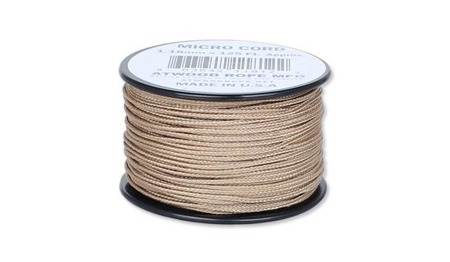 Atwood Rope MFG - Micro Cord - 1,18 mm - Tan - Szpulka 38,1m