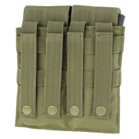 Ładownica na dwa magazynki Condor Double M4, M16 Mag Pouch - Coyote Brown - MA4-498