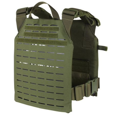 Condor - Lekka kamizelka taktyczna Sentry Plate Carrier LCS - Laser Cut - Coyote Brown - 201068-498