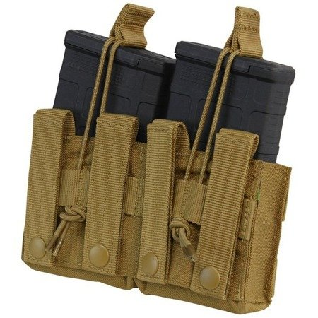 Condor - Otwarta ładownica na dwa magazynki Open Top Double M14 Mag Pouch - Coyote Brown - MA24-498