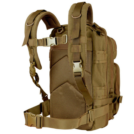 Condor - Plecak wojskowy Compact Assault Pack - 22 L - Coyote Brown - 126-498