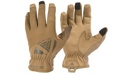 Direct Action - Rękawice taktyczne Light Gloves - Coyote Brown - GL-LGHT-PES-CBR
