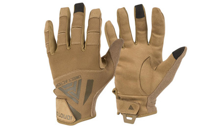 Direct Action - Rękawice taktyczne Hard Gloves - Coyote Brown - GL-HARD-PES-CBR