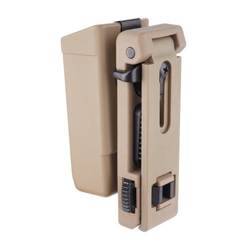 ESP - Plastic Holder - Double Stack 9mm Magazine - Khaki - MH-14