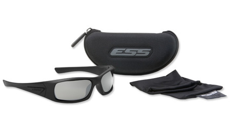 ESS - 5B - Black Frame Smoke Gray Lenses - EE9006-01