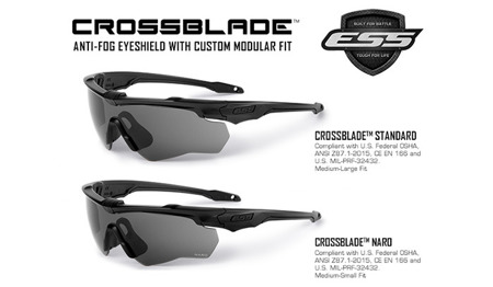 ESS - Okulary balistyczne Crossblade Unit Issue Kit - EE9032-01