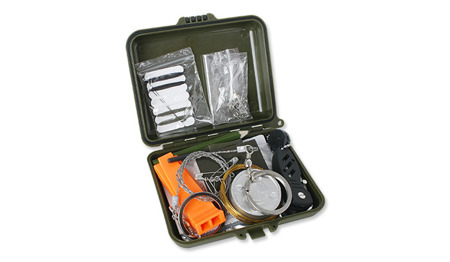 FOSCO - Zestaw Surwiwalowy - Combat Survival Kit Waterproof