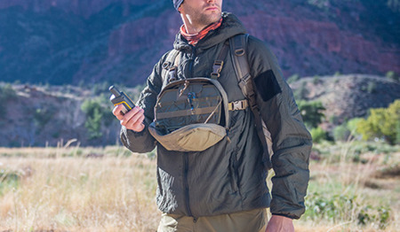 Helikon - Panel piersiowy Chest Pack Numbat® - Shadow Grey - TB-NMB-CD-35
