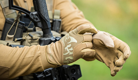 Helikon - Rękawice taktyczne All Round Fit Tactical Gloves Light® - Czarny / Shadow Grey - RK-AFL-PO-0135A