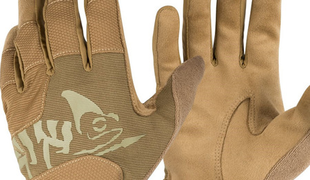 Helikon - Rękawice taktyczne All Round Tactical Gloves Light® - Coyote Brown / Adaptive Green - RK-ATL-PO-1112A