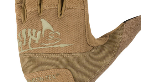Helikon - Rękawice taktyczne Range Tactical Gloves Hard® - Coyote Brown / Adaptive Green - RK-RNG-PO-1112A