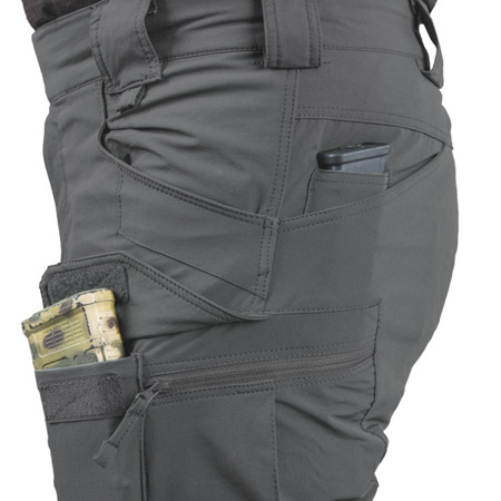 "Helikon - Spodnie OTS (Outdoor Tactical Shorts®) 11"" - VersaStretch® Lite - Taiga Green - SP-OTK-VL-09"