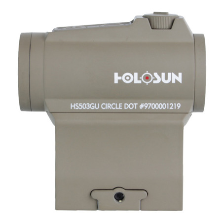 Holosun - Kolimator HS503GU Red Dot - Multi Reticle - Flat Dark Earth
