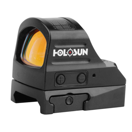 Holosun - Kolimator HS507C Micro Red Dot Multi Reticle - Solar Panel
