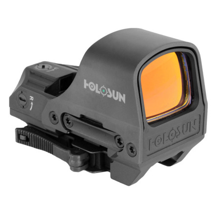 Holosun - Kolimator Open Reflex HS510C Elite Multi Reticle Green - Solar Panel