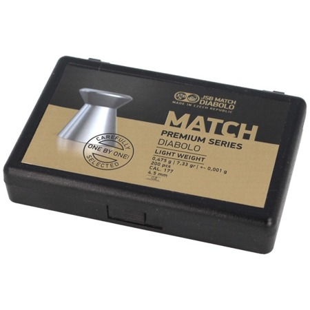 JSB - Śrut Match Premium Light 4.51 mm 0.475g - 200 szt. - 1006-200