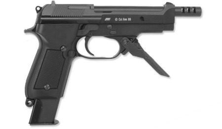 KWA / ASG - M93R II - Semi/Burst - Metal Slide - 16164