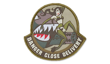 MIL-SPEC MONKEY - Morale Patch - Danger Close - Arid