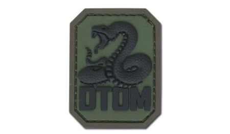 MIL-SPEC MONKEY - Morale Patch - Don't Tread on Me - PVC - Forest