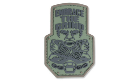 MIL-SPEC MONKEY - Morale Patch - Embrace The Grind - PVC - Forest