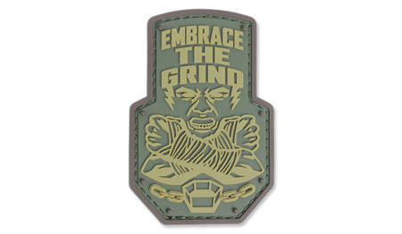 MIL-SPEC MONKEY - Morale Patch - Embrace The Grind - PVC - Multicam