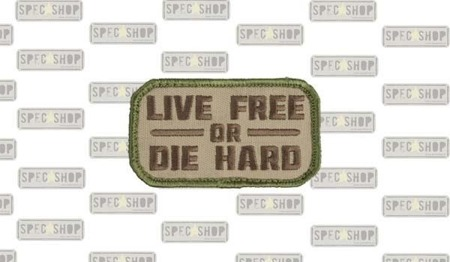 MIL-SPEC MONKEY - Morale Patch - Live Free - Multicam